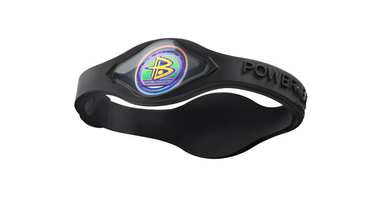 Power Balance Silicone Armband black/black